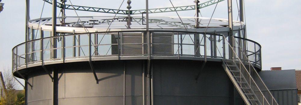 Gasometer Moringen Stadtwerke Leine Solling